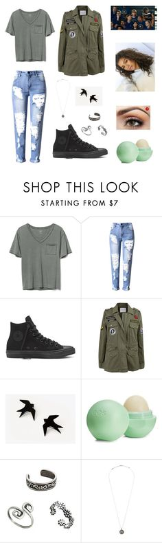 """""""Michele Spider-Man: Homecoming"""" by hannah-chapman-i ❤ liked on Polyvore featuring Gap, Velvet by Graham & Spencer, Eos, Alex and Ani and Marvel"""