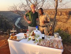 Sundowners at the Batoka Gorge - The Elephant Camp, Victoria Falls: See 621 traveller reviews, 601 candid photos, and great deals for The Elephant Camp, ranked #1 of 15 hotels in Victoria Falls and rated 5 of 5 at TripAdvisor. Elephant Camp, Private Viewing, Victoria Falls, Plunge Pool, Hotel Reviews, Candid, Trip Advisor, Hotels, Camping