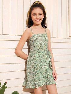 Tie Dye Dress, Tee Dress, Belted Dress, Cute Girl Dresses, Girls Casual Dresses, Girls Dresses Online, Cute Young Girl, Bardot Dress, Moda Online