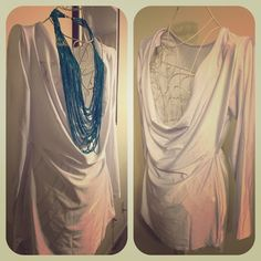 New Never Worn - High Low Tunic Dress - White New Never Worn - High Low Tunic Dress - White - Size Large. It is meant to be a dress but can be worn as a tunic. Runs small. Best fit for a size 8-10. Dresses