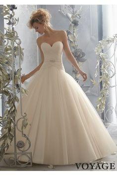 Vestidos de Novias 2015 corte princesa moderno