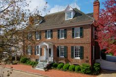 The Peggy Stewart house in historic Annapolis is offered for sale. Previously owned by a signer of the declaration of independence.www.gberkinshaw.com