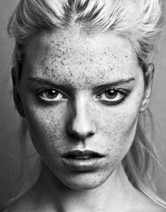 Models With Freckles, Beauty Photography, Portrait Photography, Beautiful Freckles, Female Reference, Portraits, Pretty Makeup, Beautiful People, Beautiful Things