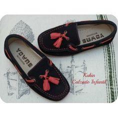 zapatos niño - mocasín marino borla -calzado infantil - calzado juvenil - moda infantil -mocasines