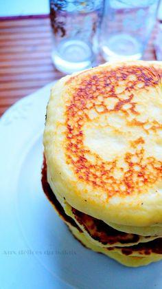 Harcha à la semoule façon pancakes
