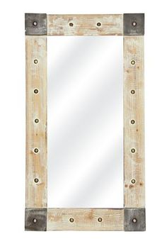 """This industrial washed mirror will make any add interest to a living space. Measures class=""""pdpDescContent""""><BR /><b class=""""pdpDesc"""">Dimensions:</b><BR cm</div> Mirror Wall Art, Furniture, Home Furniture, Home Decor Online, Decor Shopping Online, Home Decor, Mirror, Gorgeous Furniture, Mr Price Home"""