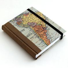 The specs were: hardcover journal moleskine strap graph paper map of south Notebook Paper, Journal Notebook, Notebook Covers, Journal Covers, Ideias Diy, Notebook Design, Handmade Books, Book Binding, Book Making