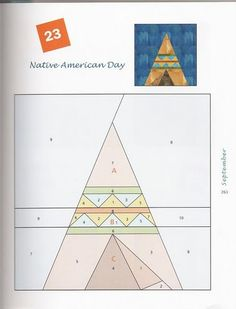 """Photo from album Foundation Quilt Blocks"""" on Yandex. Paper Piecing Patterns, Quilt Block Patterns, Quilt Blocks, Quilting Projects, Quilting Designs, Sewing Projects, Southwestern Quilts, Indian Quilt, House Quilts"""
