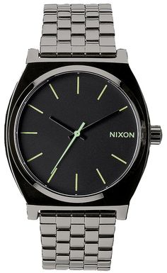 Nixon Time Teller Polished Gunmetal A045-1885-00 Mens Watch Singapore 02748bdbc91
