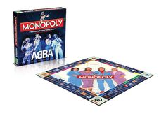 ABBA Monopoly $54.99 by Universal Music, at UniversalMusic.com