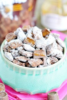Salted Caramel Rolo Muddy Buddies
