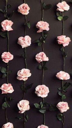 Wallpaper of flowers Tumblr Wallpaper, Flower Wallpaper, Screen Wallpaper, Wallpaper Backgrounds, Iphone Wallpaper, Wallpapers Tumblr, Diy Pallet Wall, Diy Wall, Diy Backdrop