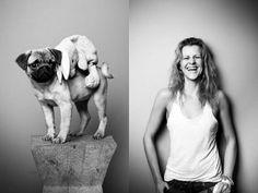 Enternecedoras fotos de mascotas con sus respectivos dueños
