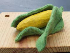 Duo Fiberworks - Duo Fiberworks - Carving play food Tutorial: SweetCorn