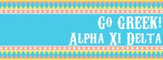 Go Greek! Alpha Xi Delta cover photo