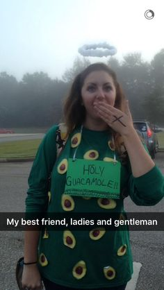 halloween costumes ideas Holy Guacamole! Cute, clever, and easy DIY Halloween costume for anyone who loves puns
