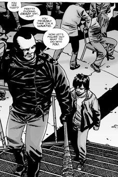 Negan and Carl