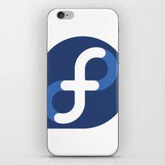 Fedora Linux iPhone & iPod Skin