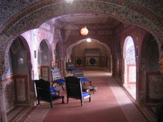 Inside view of Palace @ Chomu