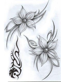 Check which tattoo suits you best. Fairy Tattoo Designs, Tattoo Design Drawings, Symbolic Tattoos, Unique Tattoos, Body Art Tattoos, Sleeve Tattoos, Borboleta Tattoo, Lily Flower Tattoos, Tribal Flower Tattoos