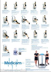 Medicarn-Power-Vibration-Plate-Workout-Poster-Basic-And-Advanced-Gift