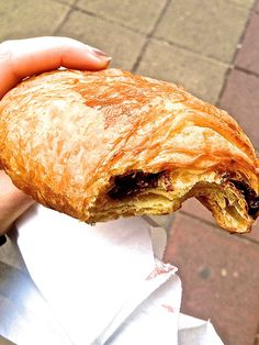 February 19th  Brussels.  Got a fresh, warm, one euro chocolate croissant this morning as we started our walk around the city.