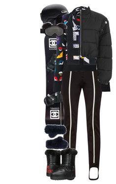 """""""Swiss Alps"""" by quiche ❤ liked on Polyvore featuring Chanel, Fendi, Smith, Love Moschino, Annabelle New York, Versace and 3.1 Phillip Lim"""