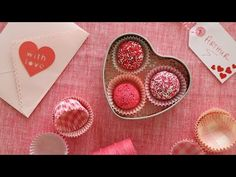 How to Make Heart Shaped Candies for Valentine's Day - YouTube