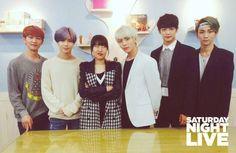 150528 SNL Korea #Shinee #Key #Taemin #Minho #Onew #Jonghyun #ODD