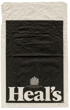 Heals retro paper bag, definitely check out to have and to holds collection  http://www.tohave-and-tohold.co.uk/#