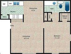 Maple Floor Plan at The Arbors Of Corsicana in Corsicana, TX