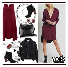 """Yoins 1 (1)"" by alejla ❤ liked on Polyvore featuring Finery London, Zizzi, Kara, Christian Dior, women's clothing, women, female, woman, misses and juniors"