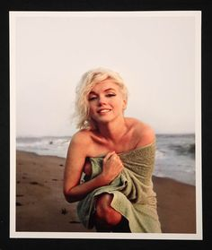 A color platinum edition giclée print of Marilyn Monroe taken by George Barris in 1962.