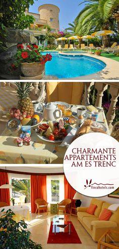 Eine Ferienunterkunft direkt am beliebten Es Trenc und doch soll es klein, charmant und familiär sein? Das ist die Villa Piccola, eine kleine Appartementanlage. Das familienfreundliche Hotel befindet sich direkt am Strand von Es Trenc auf Mallorca.