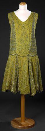Dress, 1920's. @Deidré Wallace