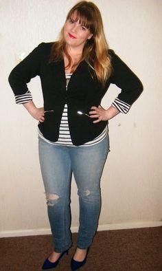 SpijkerKat's Closet: Aussie Curves- Stripes!