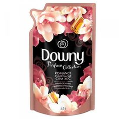 Downy Romance Parfum Collection Fabric Softener Refill Food Packaging, Packaging Design, Downy, Fabric Softener, Laundry Detergent, Household, Cleaning, Sweet, Frame