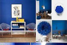 Behr Sapphire Lace or Tardis Blue!