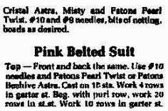 Barbie Size Knitting Pattern for 3 Outfits