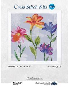 М570 Flowers of the rainbow
