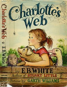 E.B White's Charlotte's Web was not only a classic book but only of our favorite movies. Reading challenges the imagination. That is why I LOVE reading the book first!
