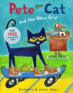 Pete the Cat is back in Pete the Cat and the New Guy by New York Times bestselling authors James and Kimberly Dean. There's a new guy in town, and Pete can't wait to meet him. After all, more friends