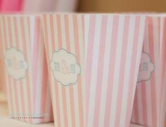 I designed popcorn boxes, printed them and put them together #diy #wedding
