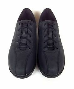 MBT Shoes Leather Black Comfort Lace Up Athletic Oxfords Fitness Mens 11 5 M | eBay
