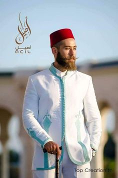 Le traditionnel tunisien revisité African Fashion, Kids Fashion, Fashion Outfits, Kaftan Men, Wedding Costumes, Sherwani, Traditional Outfits, Morocco, Style Me