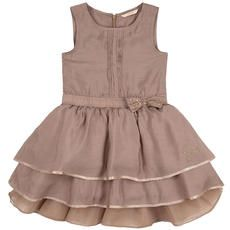 Guess - Viscose and tulle dress with flounces Little Girls