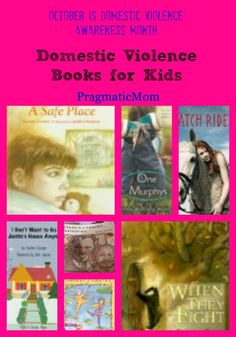 Domestic Violence books for kids UPDATED :: PragmaticMom  Where did the books like everybody poops go??? I don't understand why everyone doesn't protect children --- how naive of me