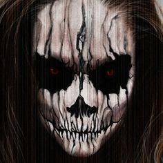 Evil Demon Tattoo Design