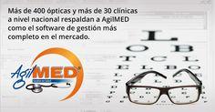 Administre todos los procesos de gestión con AgilMED, el software para ópticas y clínicas más completo del mercado - Un producto Sydicol   #AgilMED #Software #Opticas #Clinicas   http://www.sydicol.com.co/agilmed/software-para-opticas-y-clinicas/