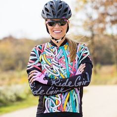 Womens Cycling Jersey | Terry Signature Jersey - Short Sleeve in Streamers | Terry Bicycles